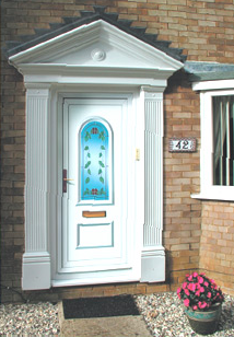 Victorian Door Surround